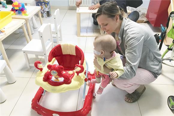 Пациенты Национального центра здоровья детей получили игровую от Группы НЛМК