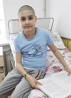 Кямиль Расулов, 14 лет, острый лимфобластный лейкоз, спасет лекарство. 308047 руб.