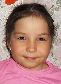 Арина Телявгулова, 6 лет, врожденный порок сердца, спасет эндоваскулярная операция, требуется окклюдер. 339200 руб.
