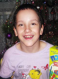 Данила Родионов, 9 лет, детский церебральный паралич, требуется лечение. 199430 руб.
