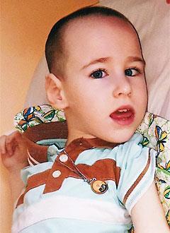 Дима Гладков, 4 года, детский церебральный паралич, эпилепсия, требуется лечение. 199430 руб.