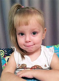 Амина Мингазова, 3 года, врожденный порок сердца, спасет эндоваскулярная операция. 267641 руб.