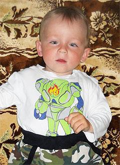 Артемий Никитин, 3 года, детский церебральный паралич, требуется лечение. 199430 руб.