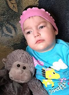 Сагида Хусаинова, 4 года, симптоматическая эпилепсия, требуется лечение. 199430 руб.