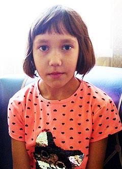 Ксюша Томина, 7 лет, врожденный порок сердца, спасет операция, требуется окклюдер. 259098 руб.