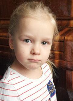 Ангелина Власова, 4 года, врожденный порок сердца, спасет эндоваскулярная операция, требуется окклюдер. 173707 руб.
