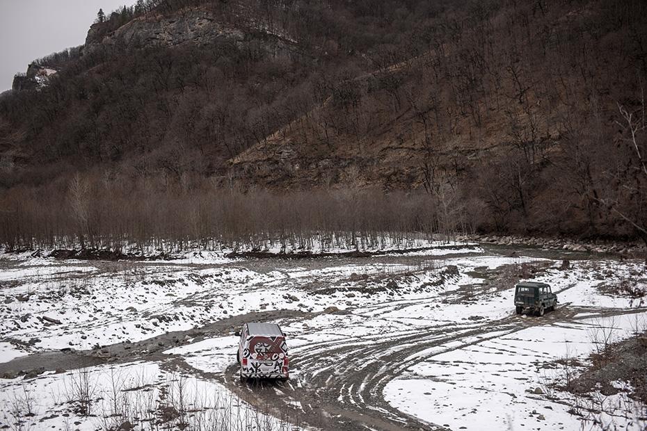 В Калмыкии путникам желают «белой дороги». И дорога из Элисты в Армавир действительно получилась белой