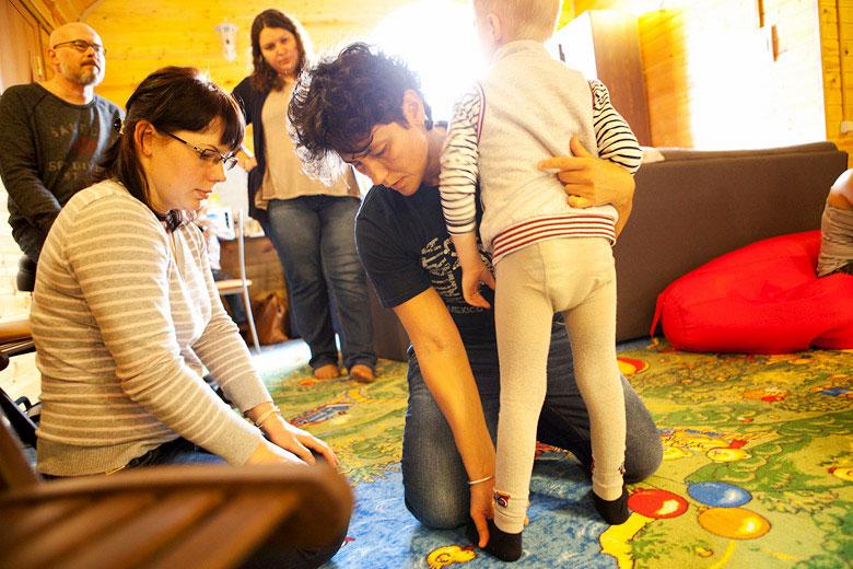 4. Иногда ходить не получается, потому что неправильно ставишь ноги